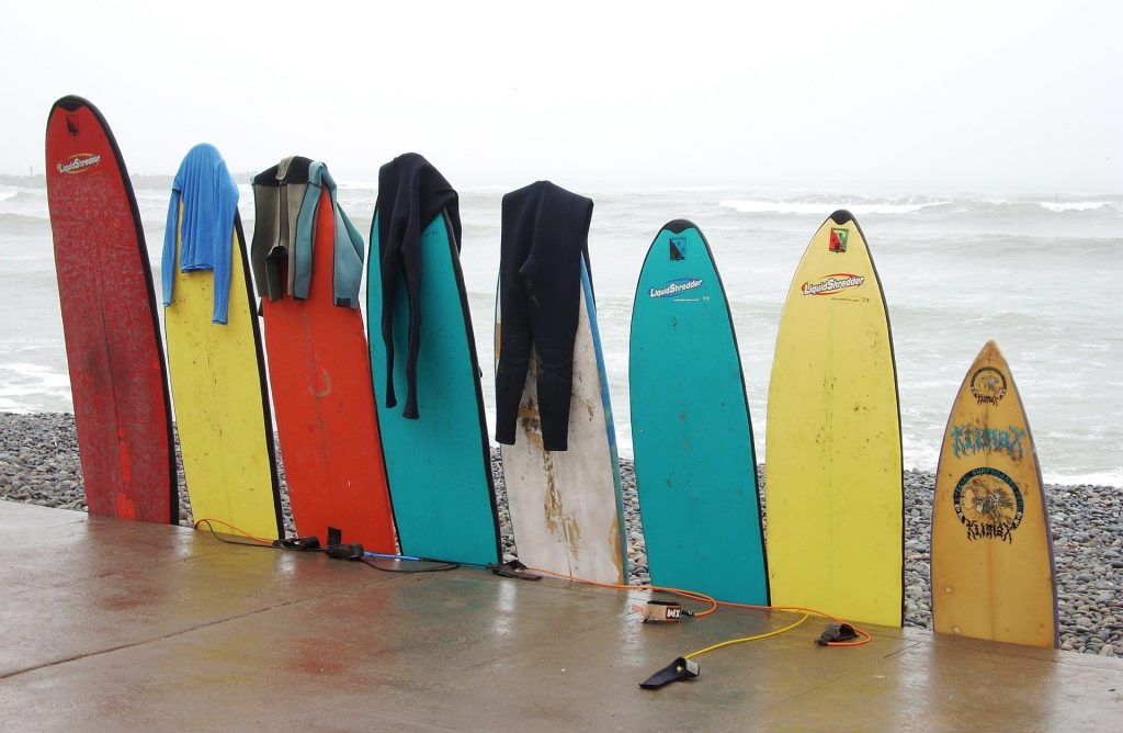 alquiler tablas de surf