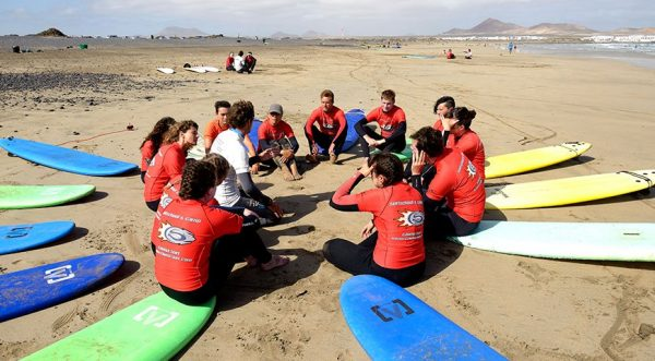 campamento surf camp en islas canarias