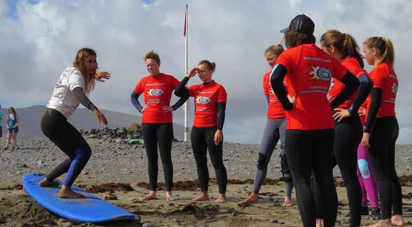 campamento surf en canarias