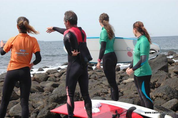 clases avanzadas de surf en lanzarote