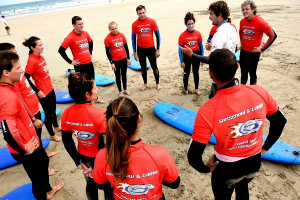 instructor de surf en islas canarias