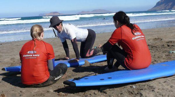 surf camp privado en españa