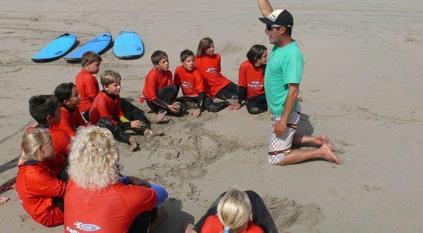 surfcamp para niños en españa