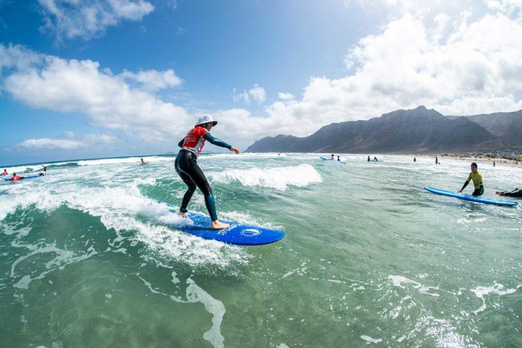 Curso de surf Famara