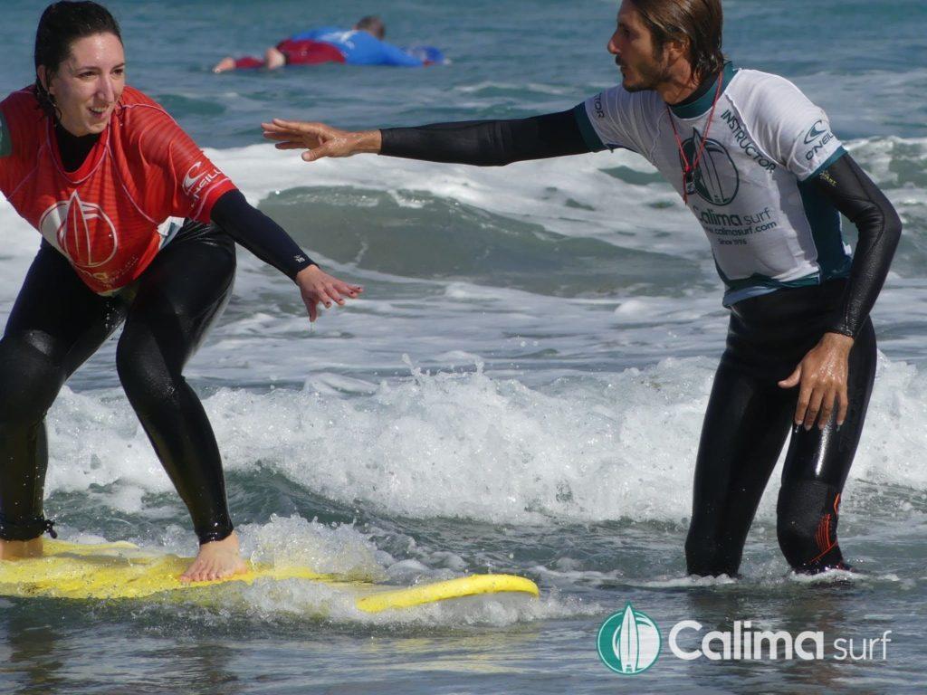 aprender surf en navidad