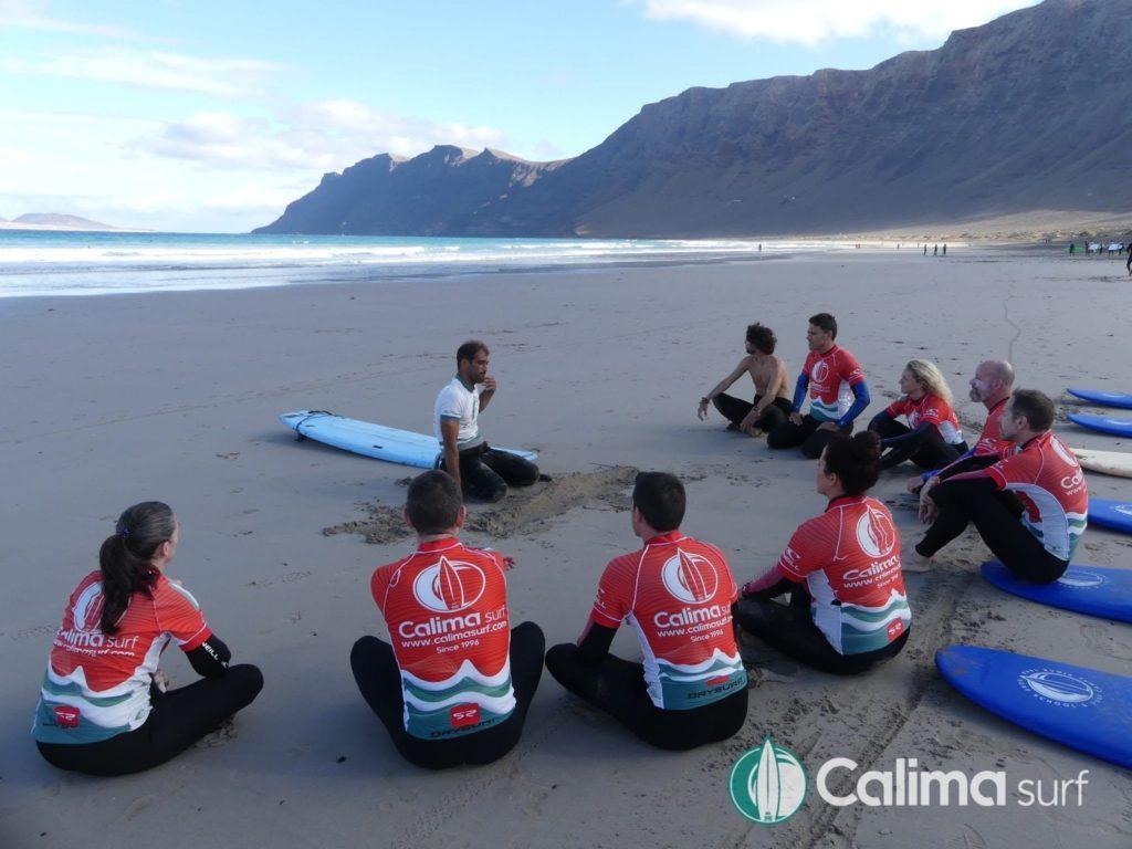 campamentos de surf fin de ano
